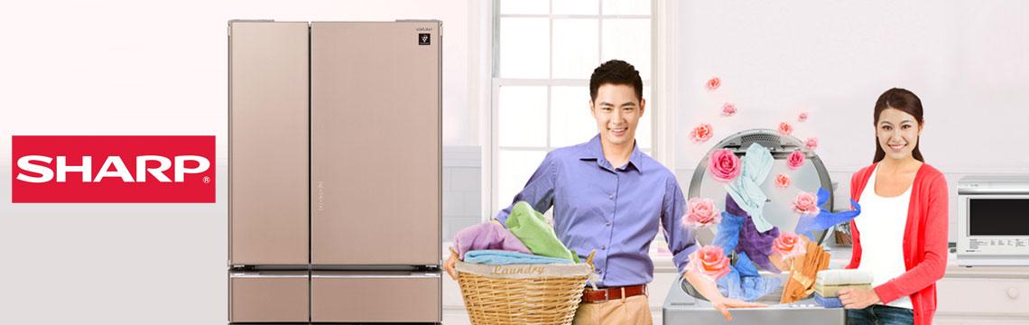 bảo hành tủ lạnh sharp